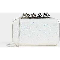 Aldo Bride To Be Glitter Clutch Bag