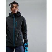 Killtec Horaz Soft Shell Hooded Jacket - Black