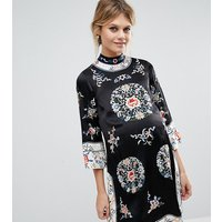ASOS MaternityASOS Maternity Embroidered Tunic Shift Dress - Multi