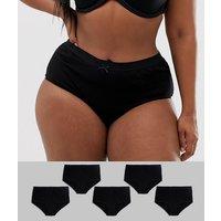 Pack de 5 braguitas de Yours Curve