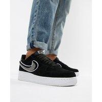 Nike Air Force 1 '07 Trainers In Black 823511-014 - Black