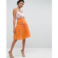 ASOSASOS Tulle Prom Skirt - Orange