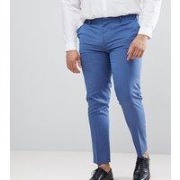 Pantalones de vestir ajustados en azul claro de ASOS DESIGN Plus