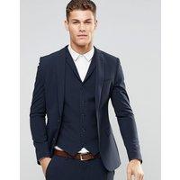 ASOS Super Skinny Fit Suit Jacket In Navy - Navy