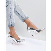 Zapatos de punta con empeine alto High Flyer de Office