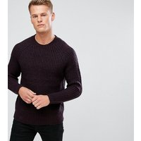 French Connection TALL Space Twist Jumper - Navy