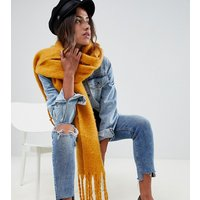 Accessorize Yellow Thick Texture Scarf - 02 Ochre
