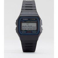Casio F-91W-1XY classic digital watch - Black