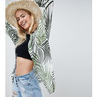 Akasa Palm Print Beach Shirt - Multi