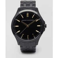 Armani Exchange Ax2144 Stainless Steel Watch In Black - Black