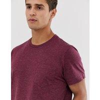 J.Crew Mercantile slim fit pocket t-shirt in faded burgundy marl - Faded burgundy