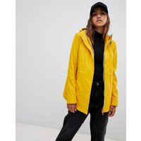 Hunter lightweight rubberised yellow rain mac - Yellow