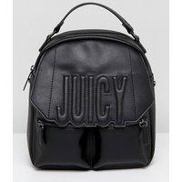 Bolso bandolera estilo mochila ajustable con logo extragrande de Juicy By Juicy Couture