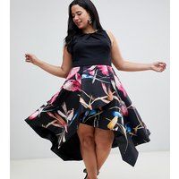 Coast Plus Katie floral midi dress