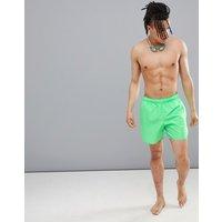 Adidas Swim Solid Swim Shorts In Green Dj2127 - Green