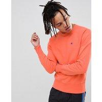 Champion reverse weave sweatshirt with small logo in peach - Orange