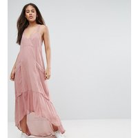 ASOS TallASOS TALL Casual Parachute Maxi Dress - Pink