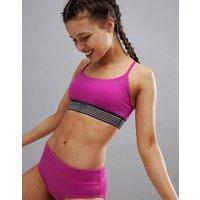 Nike Swim Crossback Sport Top - Fuchsia blast