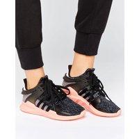 a1b2fb9a9794b ... negras EQT Support de adidas Originals. Zapatillas de deporte de Adidas