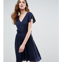Vero Moda TallVero Moda Tall Short Sleeve Skater Dress - Navy