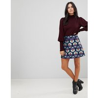 Falda acampanada de jacquard de Traffic People