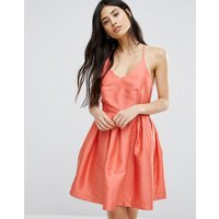 Girls on FilmGirls On Film Fit And Flare Prom Dress - Coral