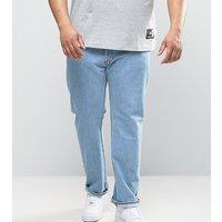Levi's Big & Tall 501 straight jeans light broken - Blue