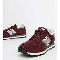 New Balance - 373 - Sneaker aus Wildleder in Burgunder - Rot