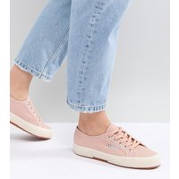 Superga 2750 Canvas Trainers In Pink - Pink