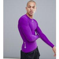 Skins long sleeve top in purple - Purple