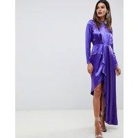 ASOS EDITION asymmetric soft cocktail dress
