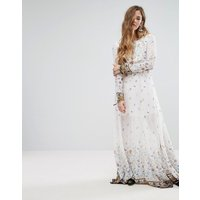 GlamorousGlamorous Maxi Dress - White crinkle border