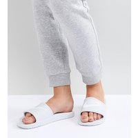 Sandalias blancas sin cierre en blanco Kawa de Nike
