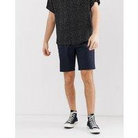 Burton Menswear chino shorts in navy - Navy