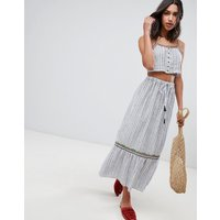 Raga Sailor Maxi Skirt - Grey