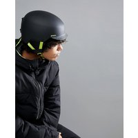 Anon Blitz Snowboard Helmet in Cracked Black - Black
