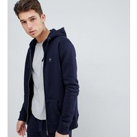 French Connection Tall Zip Hoodie - Marine