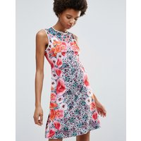 Clover CanyonClover Canyon Poppy Blossoms Matte Jersey Dress - Poppy blossom