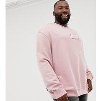 Puma PLUS organic cotton sweat in pink Exclusive at ASOS - Pink