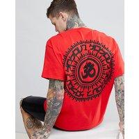 HNR LDN Back Print T-Shirt - Red