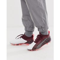 Puma One Football Boots In Burgundy