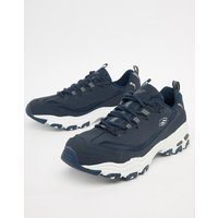 Skechers D'lites trainers in navy - Navy