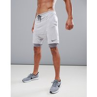 Nike Running 'Run Division' Distance Drop Crotch Shorts In Grey 892893-027 - Grey