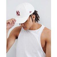 New Era 9fifty Adjustable Baseball Cap Ny Yankees - White