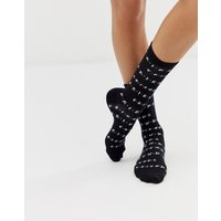 New Look friends socks in black - Multi