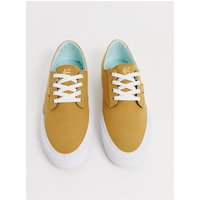 Etnies Jameson Vulc LS trainer in yellow - Tan/white
