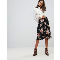 Minkpink Wallflower Wrap Skirt - Multi
