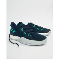 Adidas Basketball Crazy Light Boost 2018 Trainers In Navy Db1068 - Navy