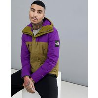 The North Face 1990 Thermoball Mountain Jacket In Green/purple - Green