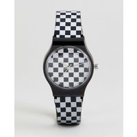 Reloj con diseño de damero de ASOS DESIGN